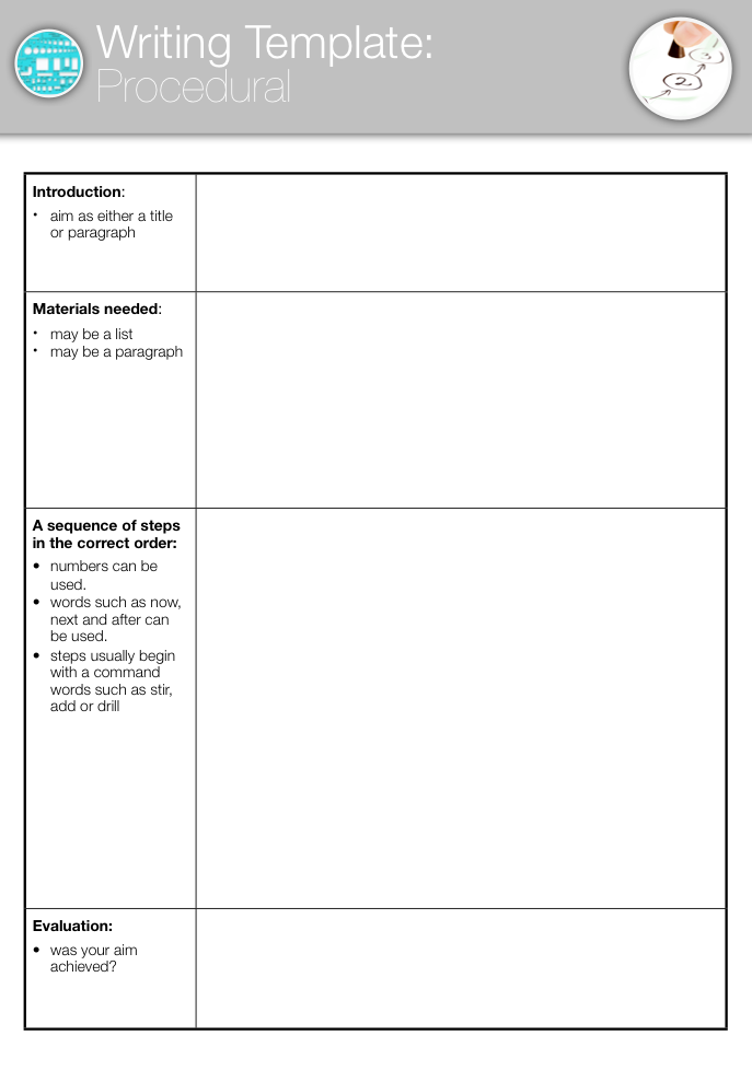 Template procedural for Writing policy and procedures template